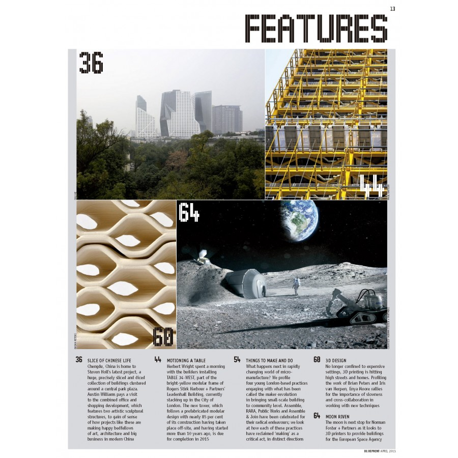 Revista blueprint numero 325 abril 2013 siguiente malvernweather Gallery