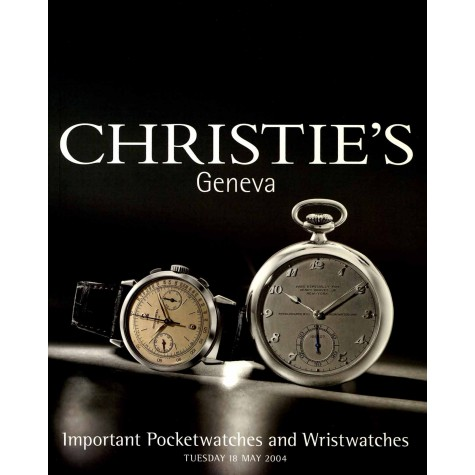 Christie's. Important Pocketwatches and Wristwatches.