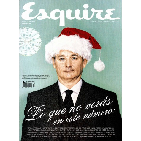Revista Esquire. Bill Murray.
