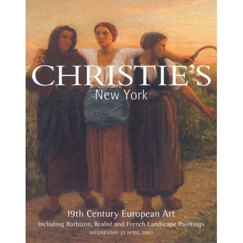 Christie's. 19th Century European Art.