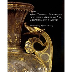 Christie's. 19th Cetury furniture, sculpture, works of art, ceramics and carpets