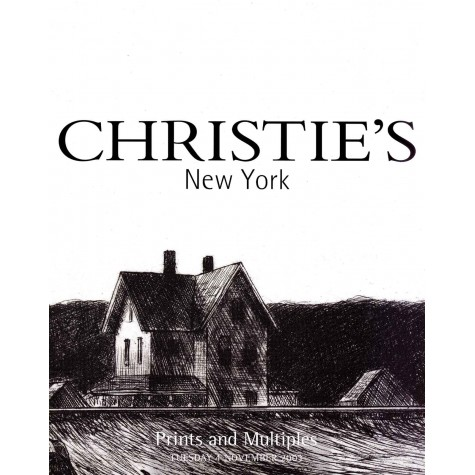 Christie's. Prints and Multiples.