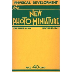 The New Photo-Miniature: Physical Development