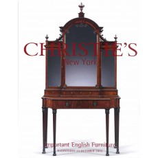 Christie's. Important English Furniture.