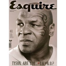 Revista Esquire. Mike Tyson.