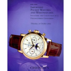 Christie's. Important Pocketwatches and Wristwatches, including the Collection of a Distinguished Gentleman