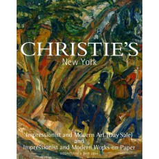 Christie's. Impressionist and Modern Art and Impressionist and Modern Works on paper.