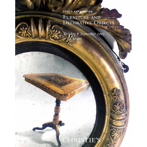 Christie's. Furniture and Decorative Objects.