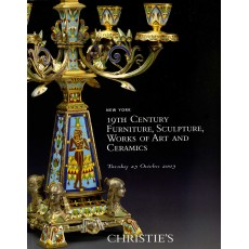 19Th Century Furniture, Sculpture, works of art ceramics