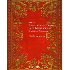 Christie's. Fine Printed Books and Manuscripts.