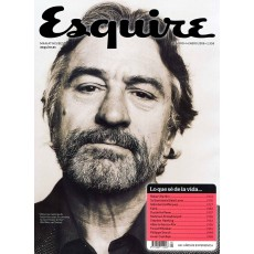Revista Esquire. Robert de Niro