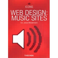 Icons. Web Design: Music Sites