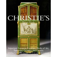 Christie's. Important European Furniture, Works of Art, Tapestries, Ceramics and Carpets.