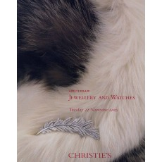 Christie's. Jewellery and Watches.