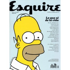 Revista Esquire. Homer Simpson.
